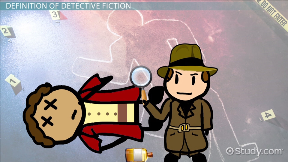 What is the main genre for a typical detective story:?
