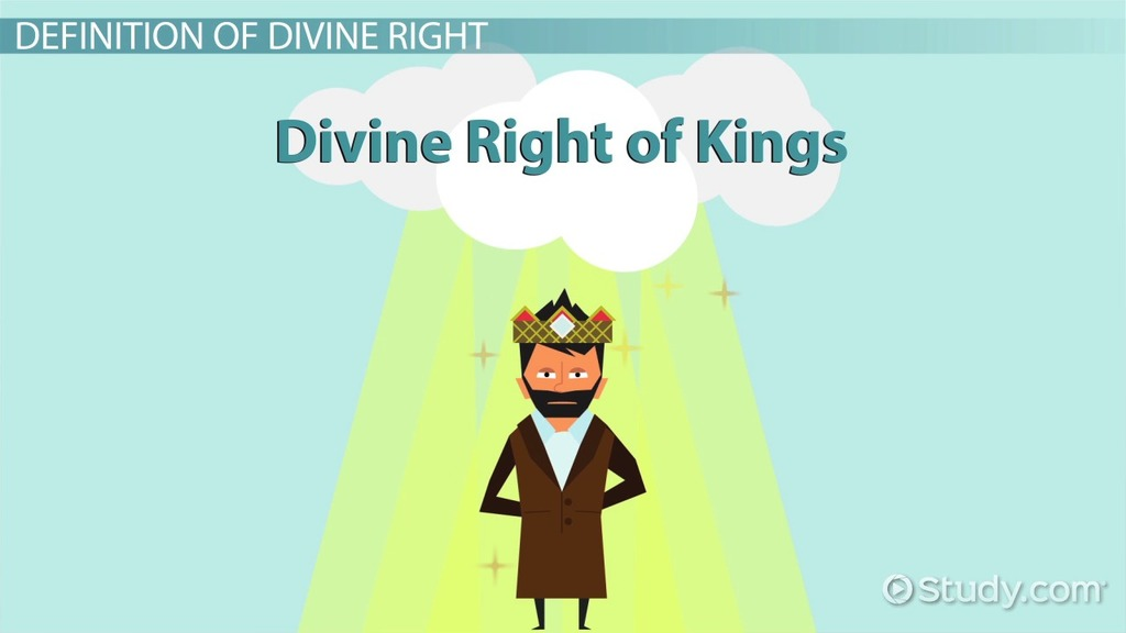 what was the concept of divine right