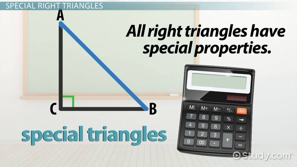 Special Triangle Rules Formulas Video Lesson Transcript. Special Triangle Rules Formulas Video Lesson Transcript Study. Worksheet. Special Right Triangles Worksheet Answers Page 26 At Clickcart.co