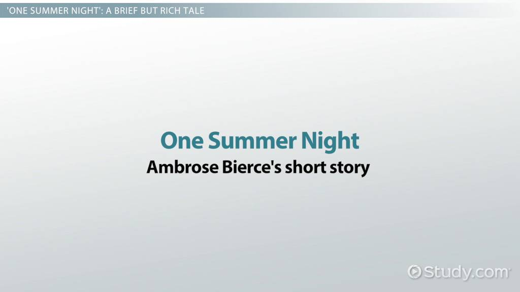 the charge of the light brigade by tennyson summary poem one summer night by ambrose bierce summary analysis
