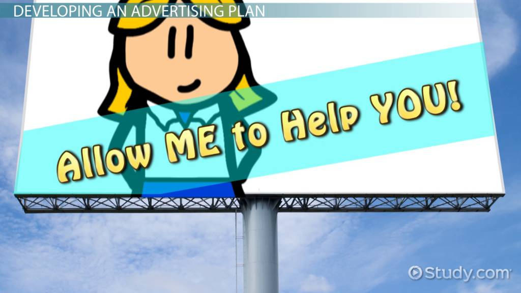 Advertising Plan: Examples & Overview - Video & Lesson Transcript
