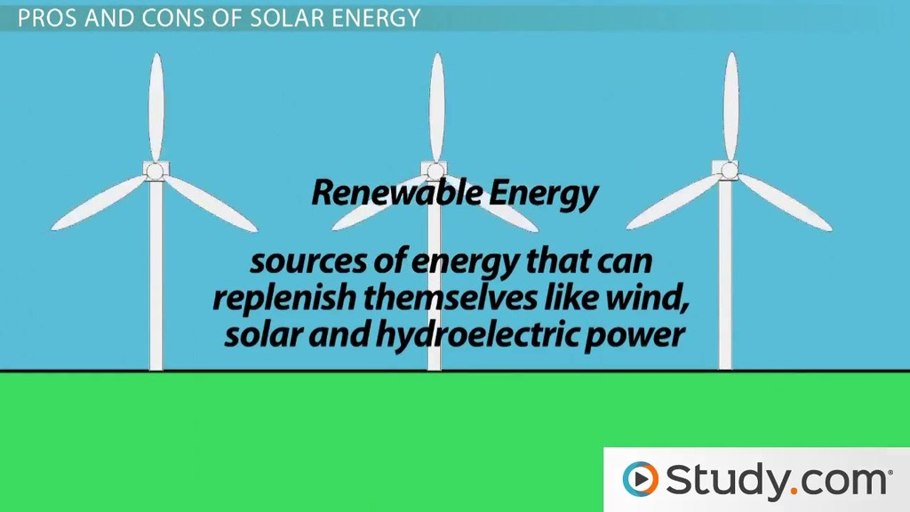 renewable resources videos lessons study com what is solar energy definition pros cons