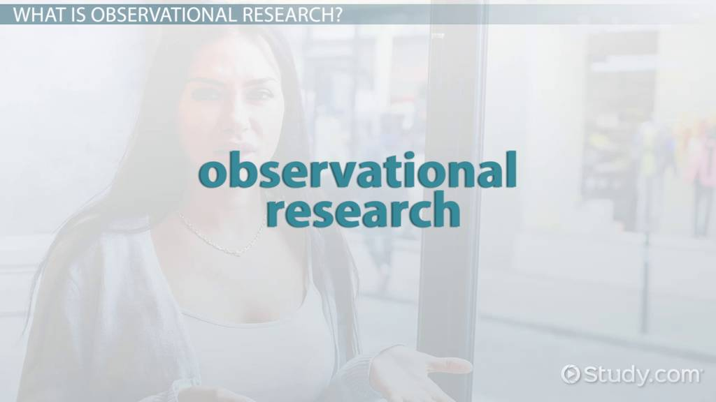 Observational Research in Marketing