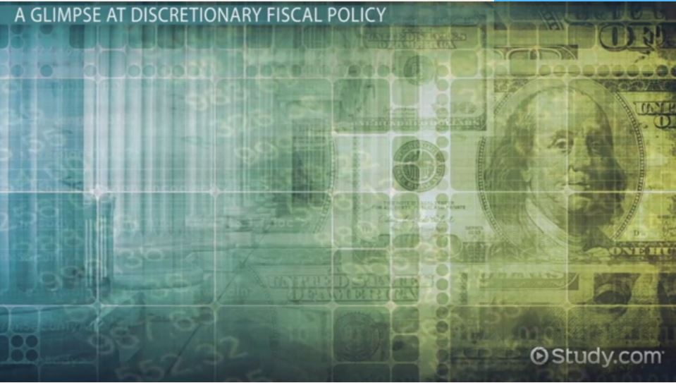 Examples Of Social Policy >> Discretionary Fiscal Policy: Definition & Examples - Video ...