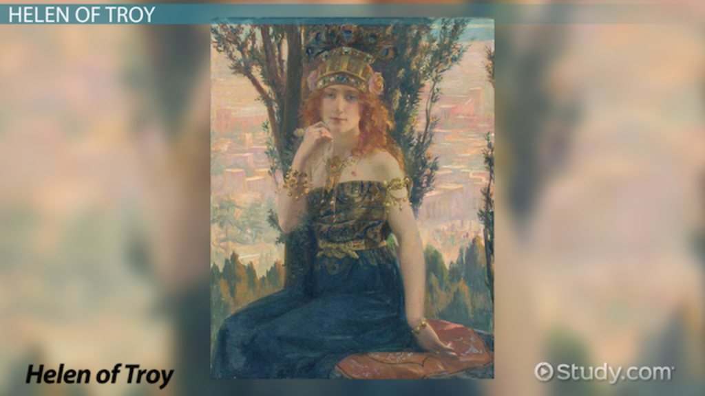theme of the story helen of troy Greek literature has always treated the name and character of helen with  ambiguity  departs from the tradition, creating his own version of the story of  helen  so, in euripides' play, helen was never unfaithful, she never went to  troy.
