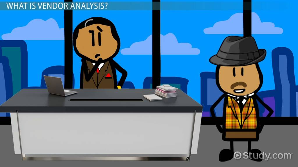 Vendor Analysis Definition  Process  Video  Lesson Transcript