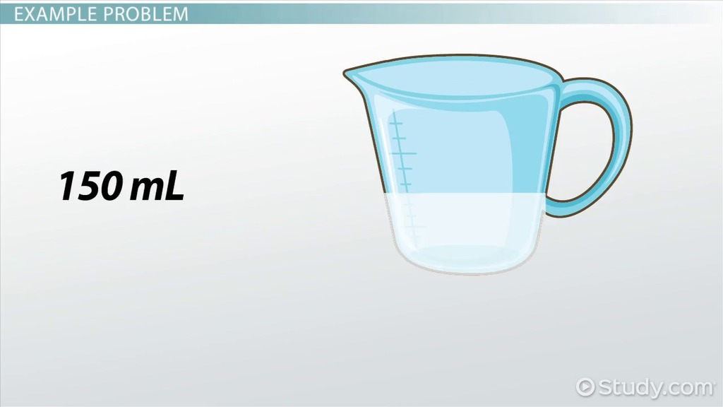 How to Calculate the Density of Solids or Liquids Video & Lesson
