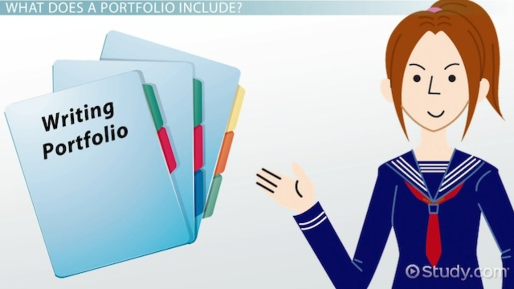 What is a Student Portfolio? - Ideas & Examples - Video & Lesson