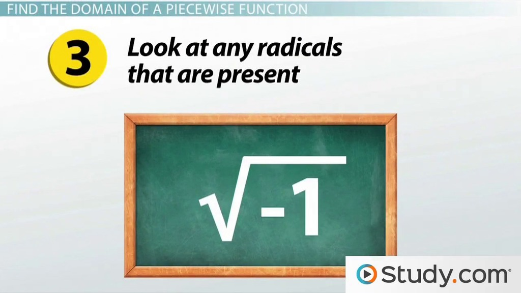 How To Find The Domain Of Piecewise Functions Video Lesson. How To Find The Domain Of Piecewise Functions Video Lesson Transcript Study. Worksheet. Easy Piecewise Functions Worksheet At Mspartners.co
