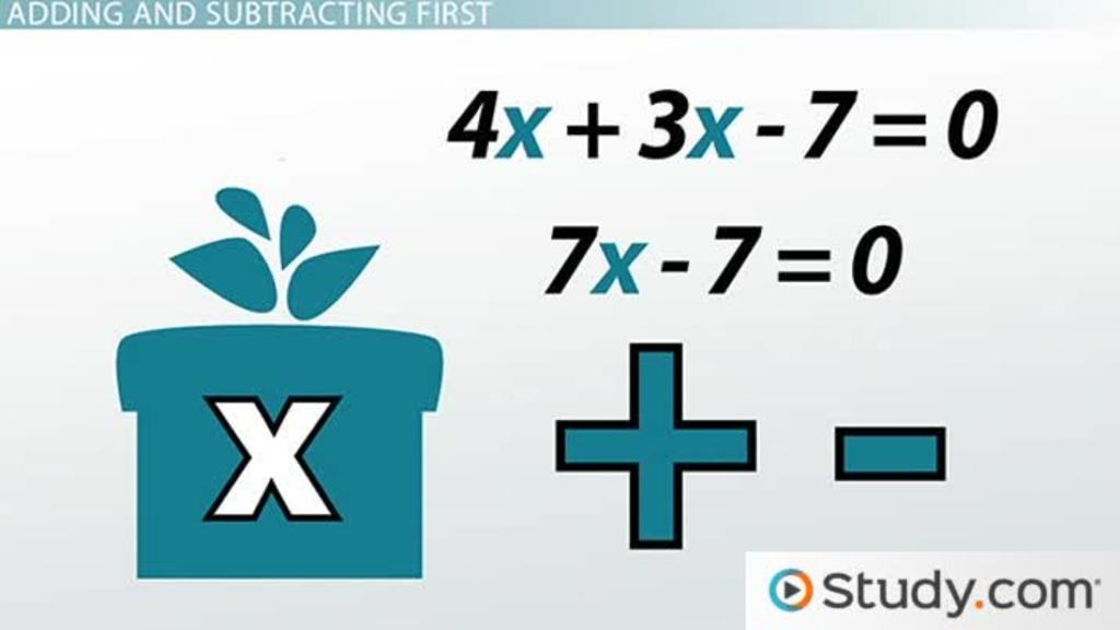 How to Solve Equations with Multiple Steps - Video & Lesson ...