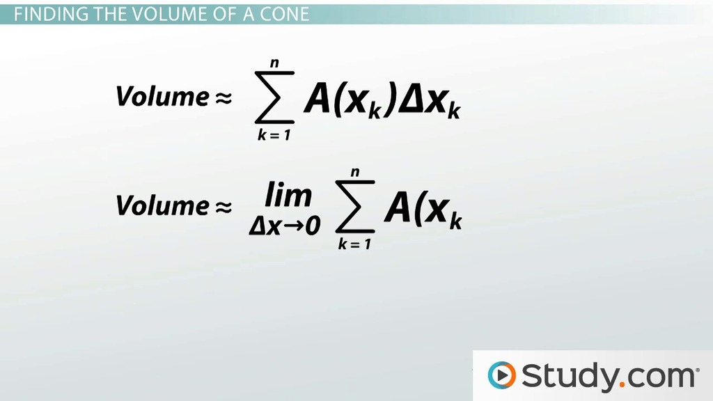 How To Calculate Volumes Using Single Integrals Video Lesson. How To Calculate Volumes Using Single Integrals Video Lesson Transcript Study. Worksheet. Worksheet On Volume By Cross Sections At Clickcart.co