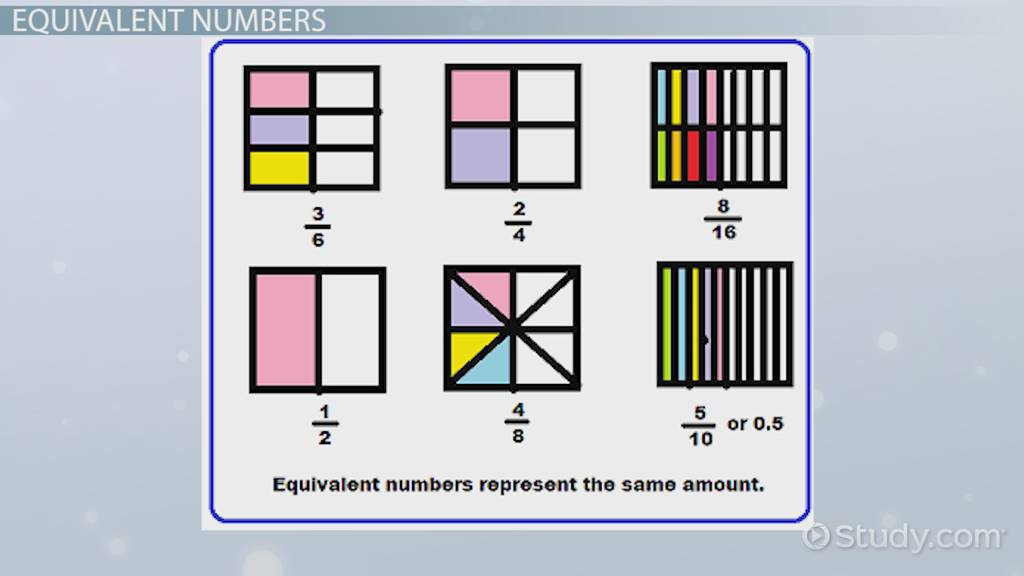 What Does Equivalent Mean In Math Video Lesson Transcript
