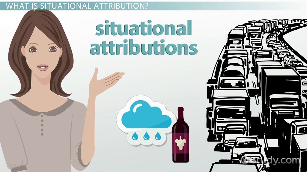 situational attribution  definition  u0026 examples