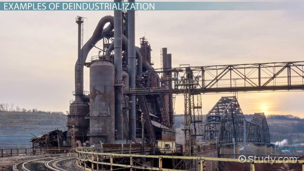 What is Deindustrialization   Definition   Examples