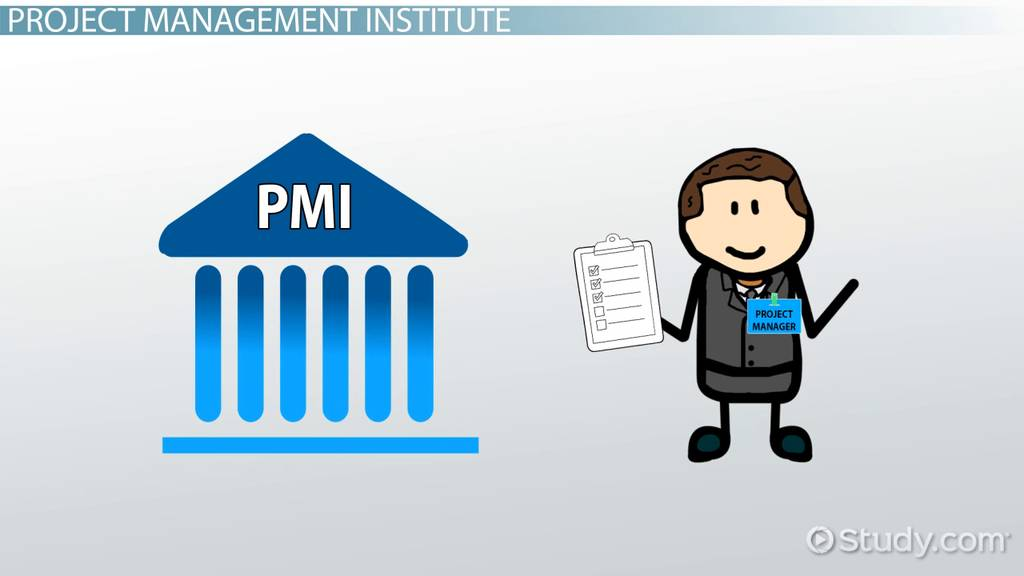 The project management institute pmi
