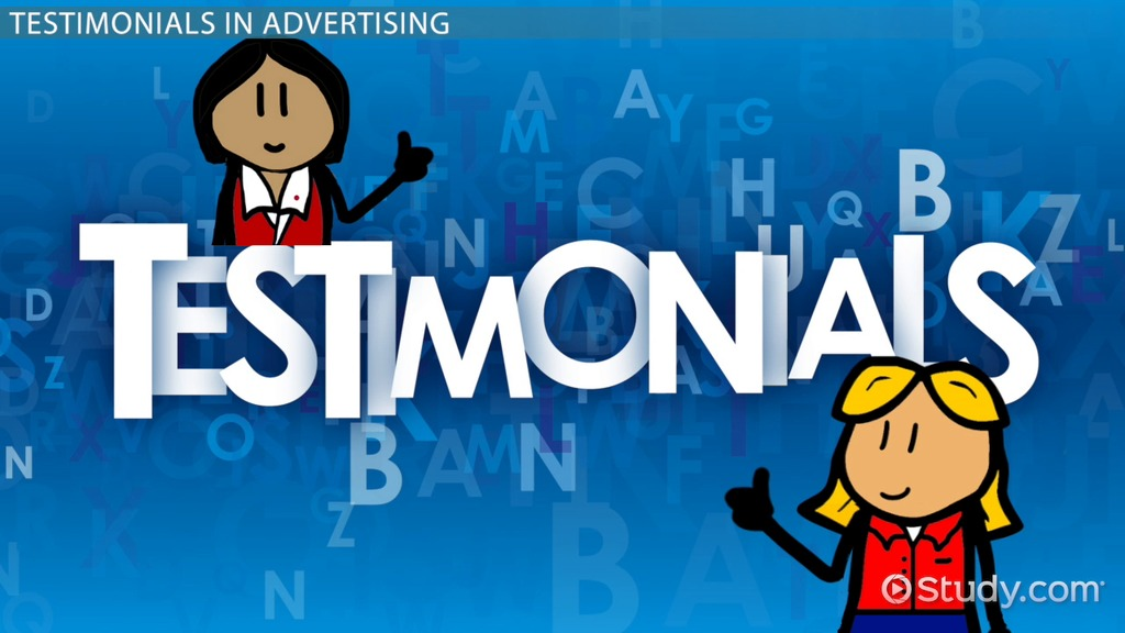 Testimonials In Advertising Definition Amp Examples Video