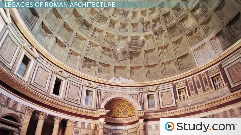 Roman Architecture ancient roman architecture: facts, style & characteristics - video
