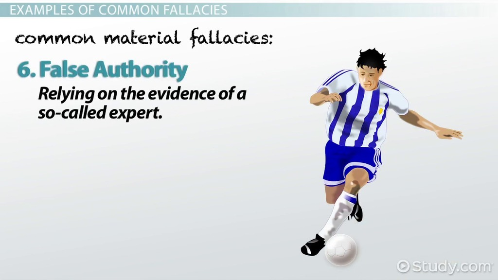 academy lesson logical fallacy definition examples