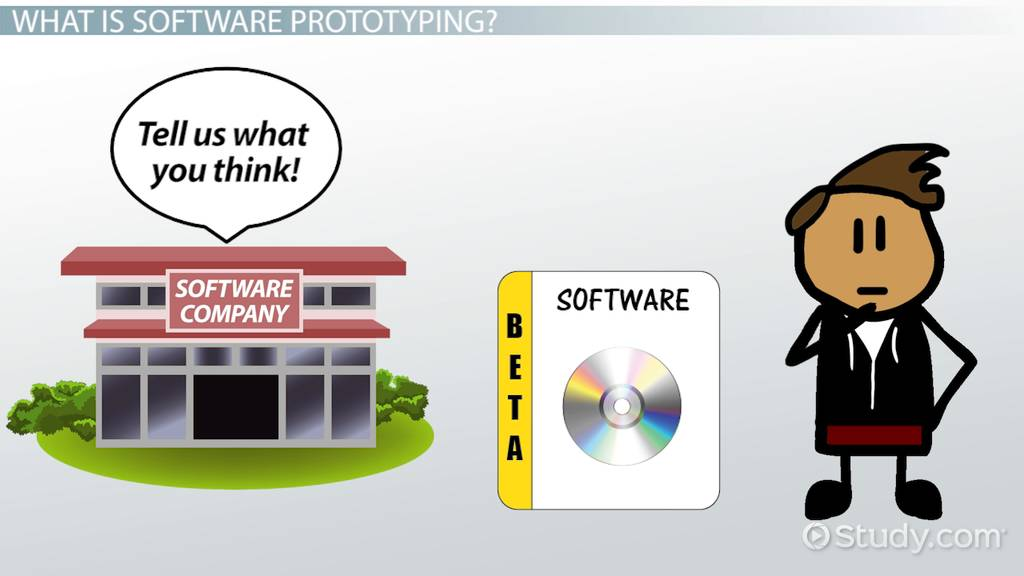 what is software prototyping  - definition  models  u0026 tools