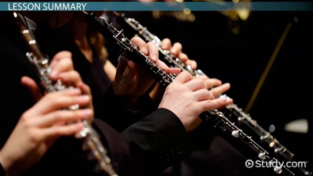 The Woodwind Family Instrument List Amp Overview Video