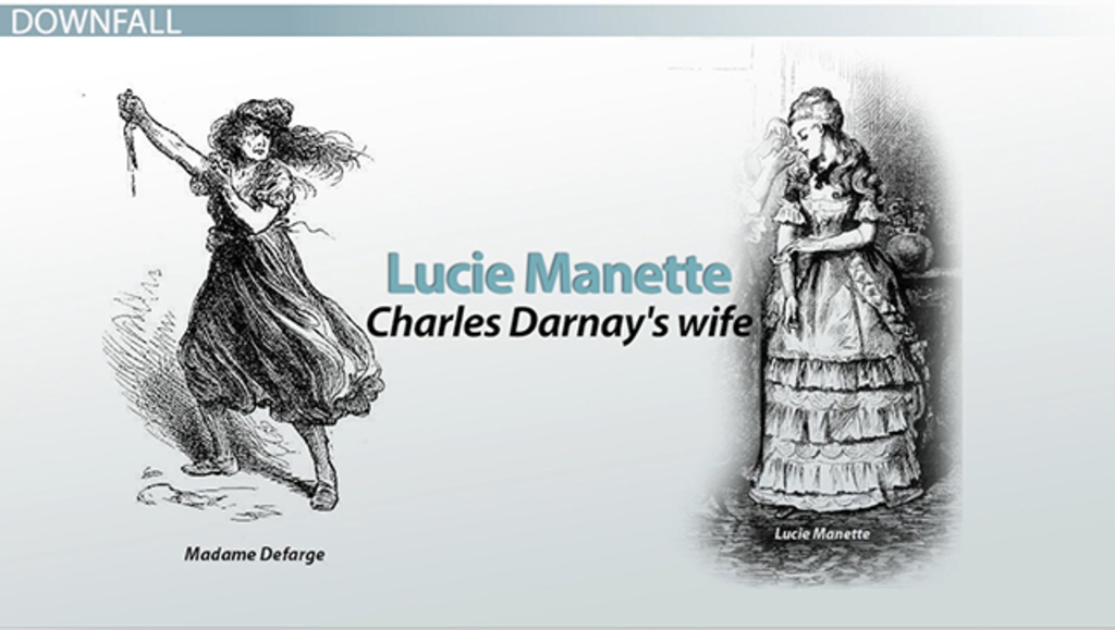an analysis of the characters miss pross and madame defarge in a tale of two cities by charles dicke The foils in dickens' tale of two cities show similarities and differences that illuminate the novel's protagonist, sydney carton, and its terrifying antagonist, mme defarge foil as reforming contrast.