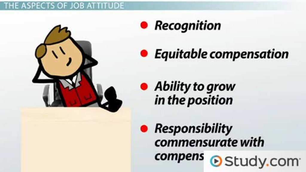 major job attitudes satisfaction commitment engagement more  major job attitudes satisfaction commitment engagement more video lesson transcript com