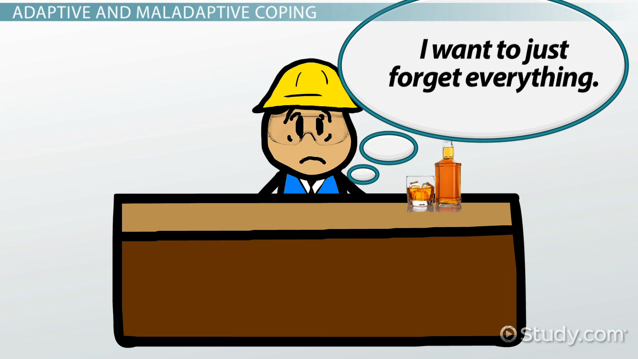 maladaptive coping strategies  definition  u0026 examples