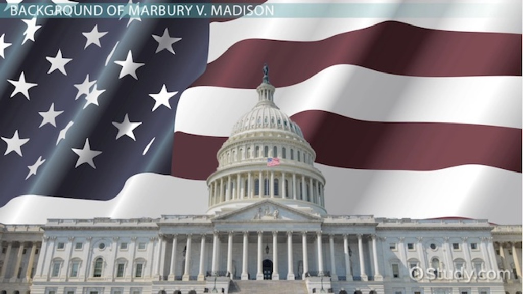 marbury v  madison  definition  summary  u0026 significance