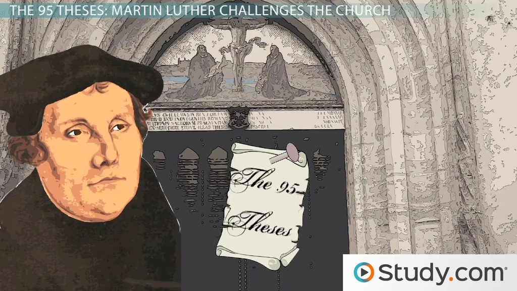 What was the impact of luther's 95 theses