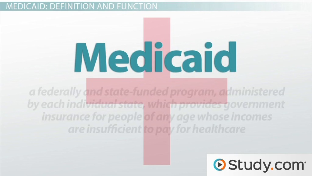 medicare and medicaid  definitions  u0026 functions
