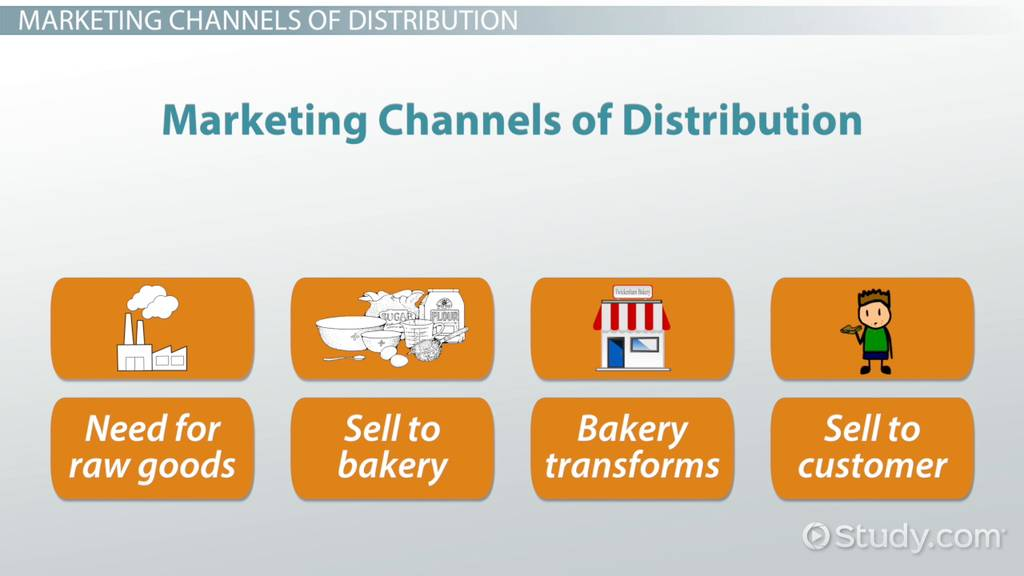 Distribution Channels in Marketing: Definition, Types & Examples ...