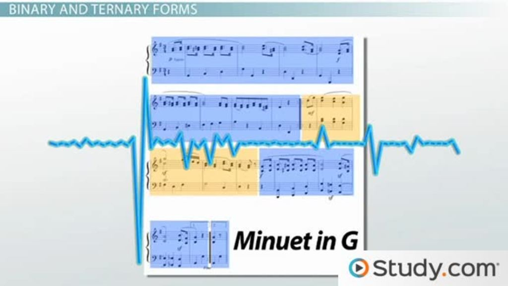 Musical Form: Phrasing, Binary, and Ternary Forms - Video & Lesson ...