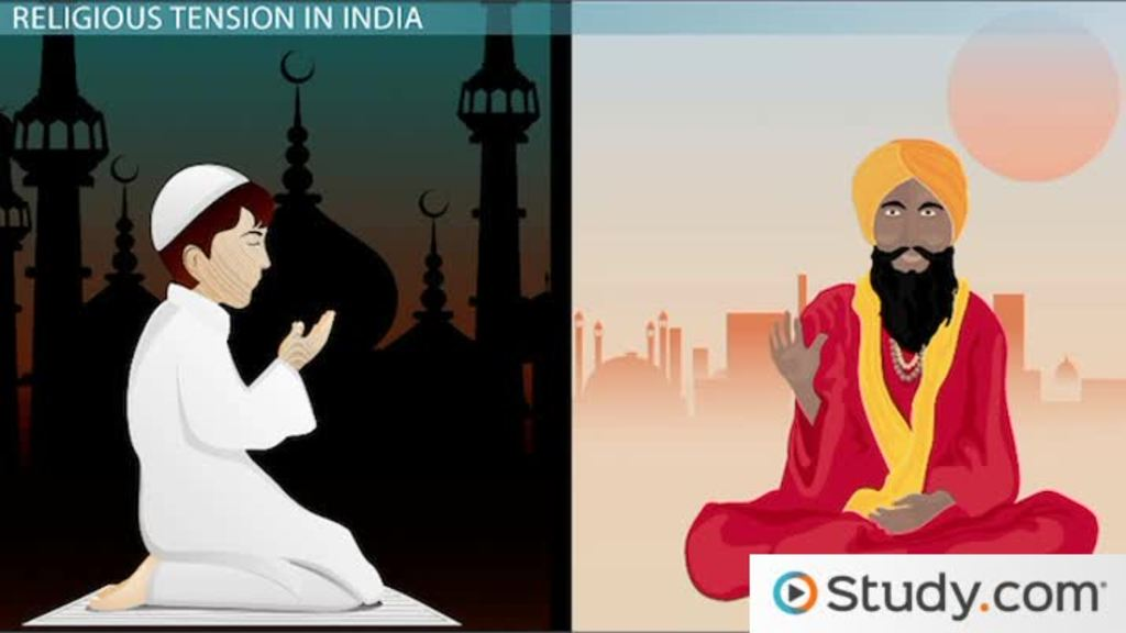 Muslim and Hindu Conflict in India and the Partition of India and ...