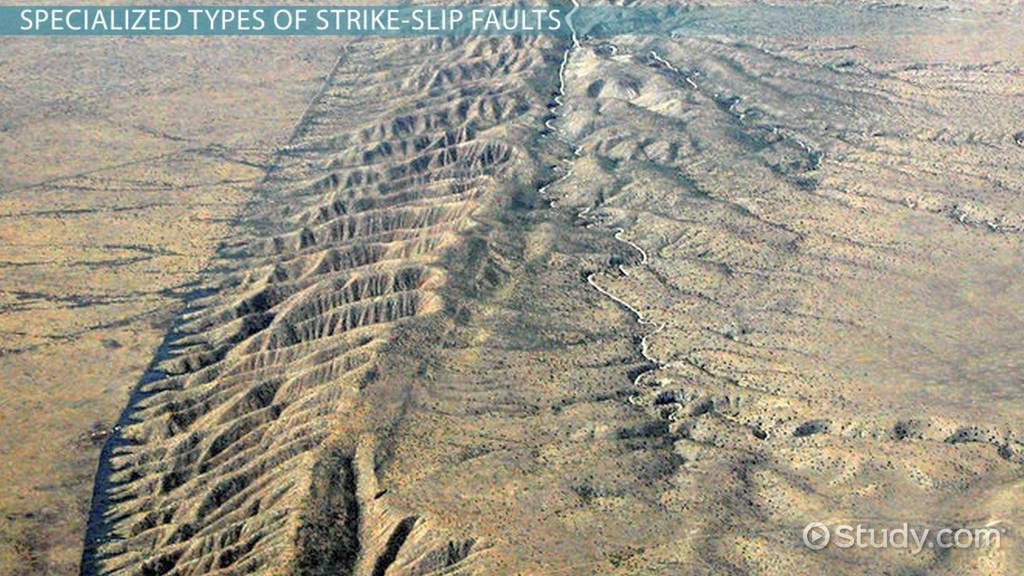 strike-slip fault  definition  u0026 example