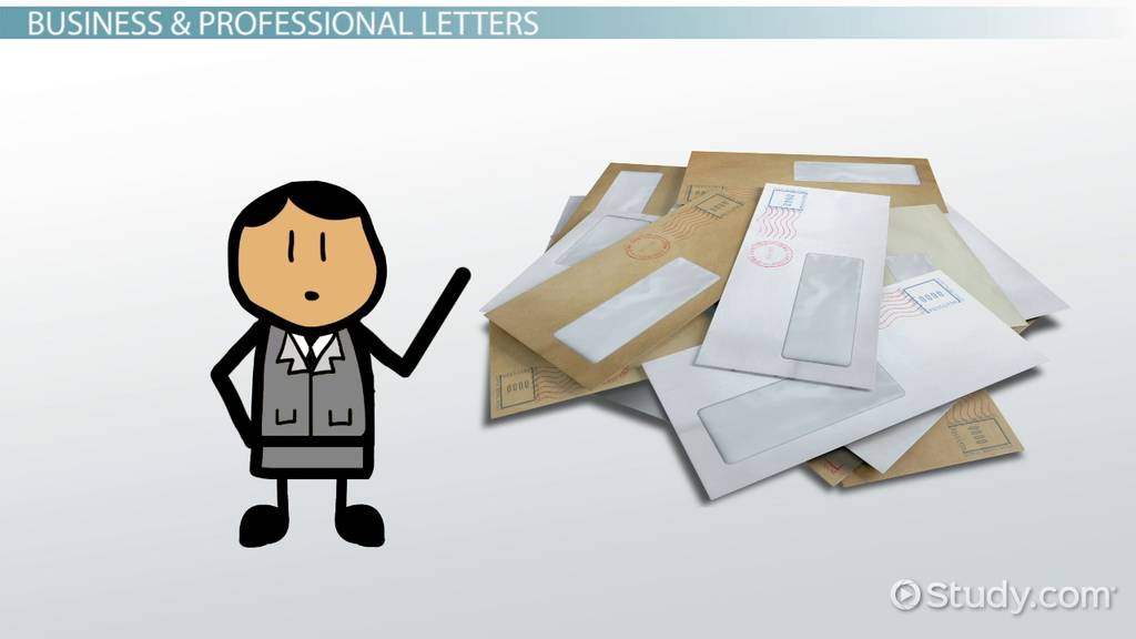 Types of Letter Writing Video