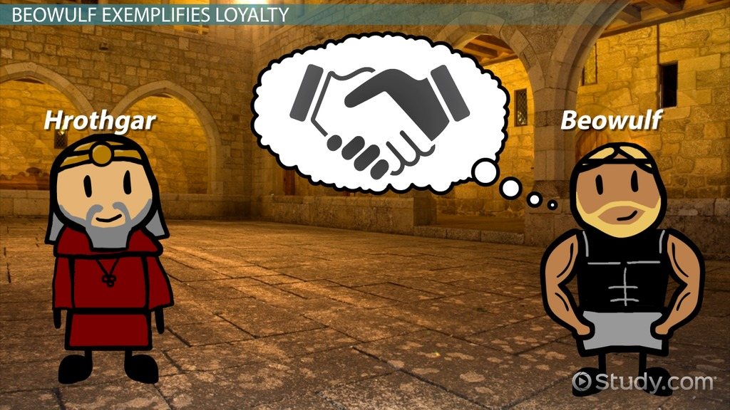 loyalty in beowulf video lesson transcript com