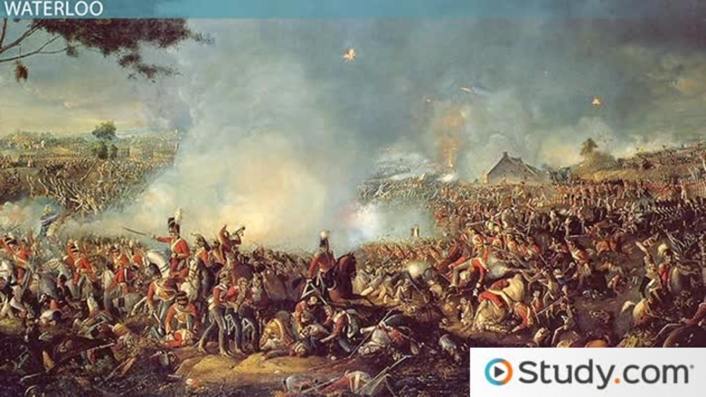 napoleon bonaparte and the battle of waterloo video lesson  napoleon bonaparte and the battle of waterloo video lesson transcript com