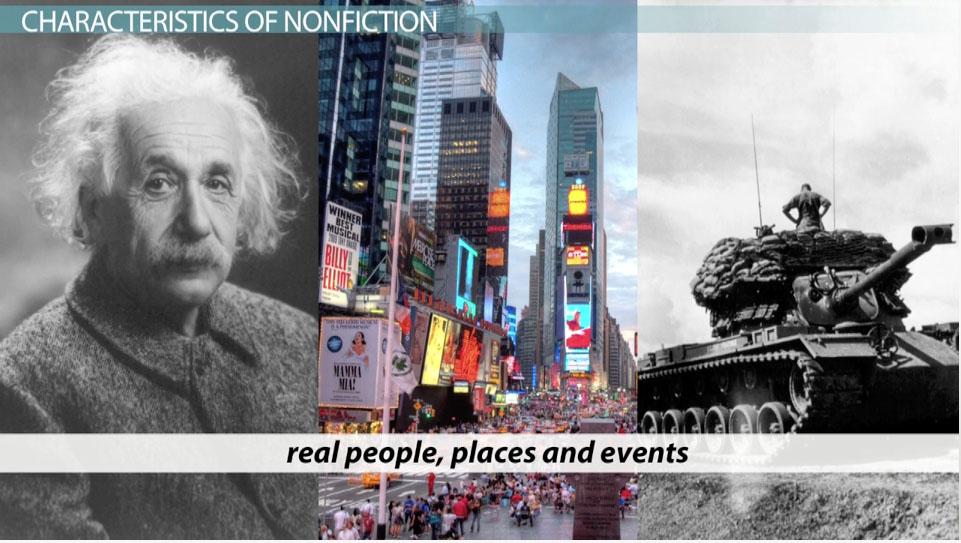 What Is Nonfiction? - Definition & Examples - Video & Lesson ...