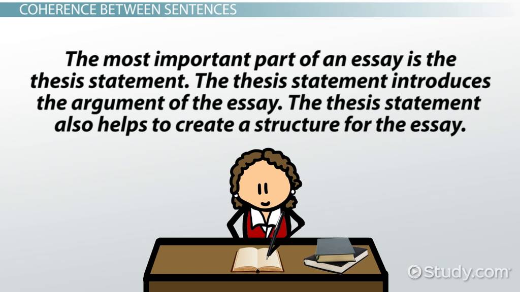 Examples Of Thesis Statements For Narrative Essays Coherence In Writing Definition  Examples  Video  Lesson Transcript   Studycom Essay On Myself In English also Topics For Proposal Essays Coherence In Writing Definition  Examples  Video  Lesson  High School Persuasive Essay