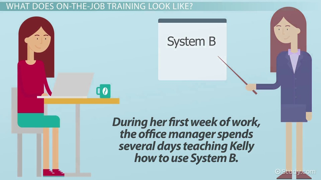 On-The-Job Training: Definition, Advantages & Importance - Video