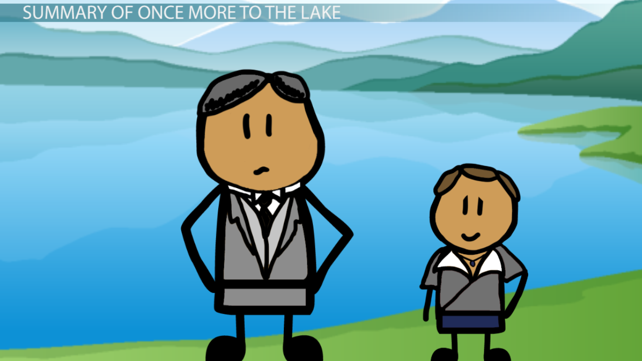 Once more to the lake essay