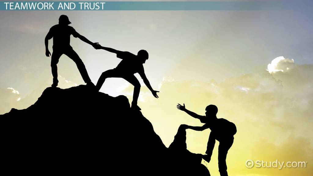 trust building in business teams  definition  activities