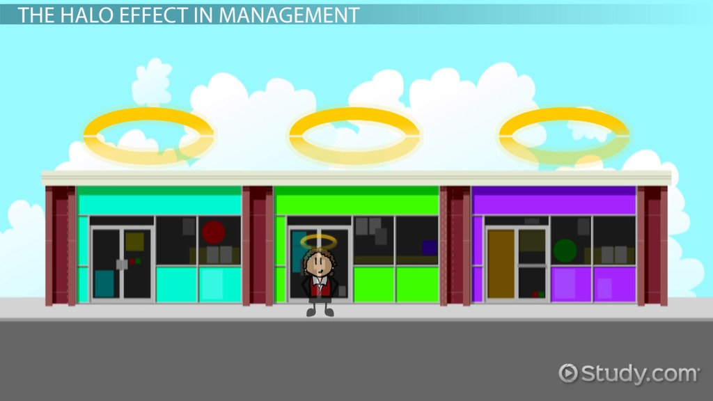 halo effect in management  examples  u0026 concept