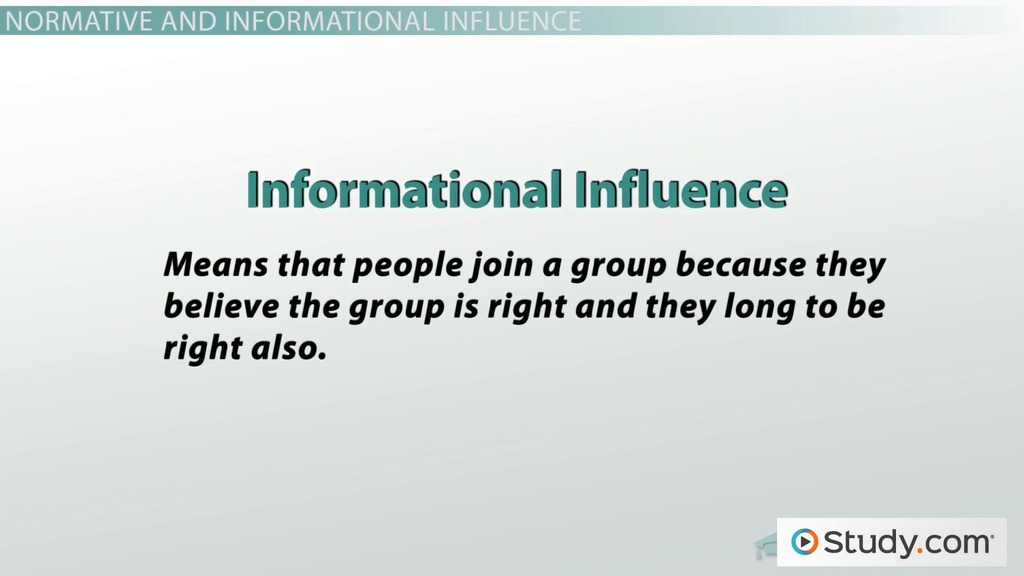 a research on group influence Group influences humans are a useful framework of analysis of group influence on the individual is the so called reference group—the term comes about because an a former anthropologist turned retail consultant and author of the book why we buy has performed research suggesting that.