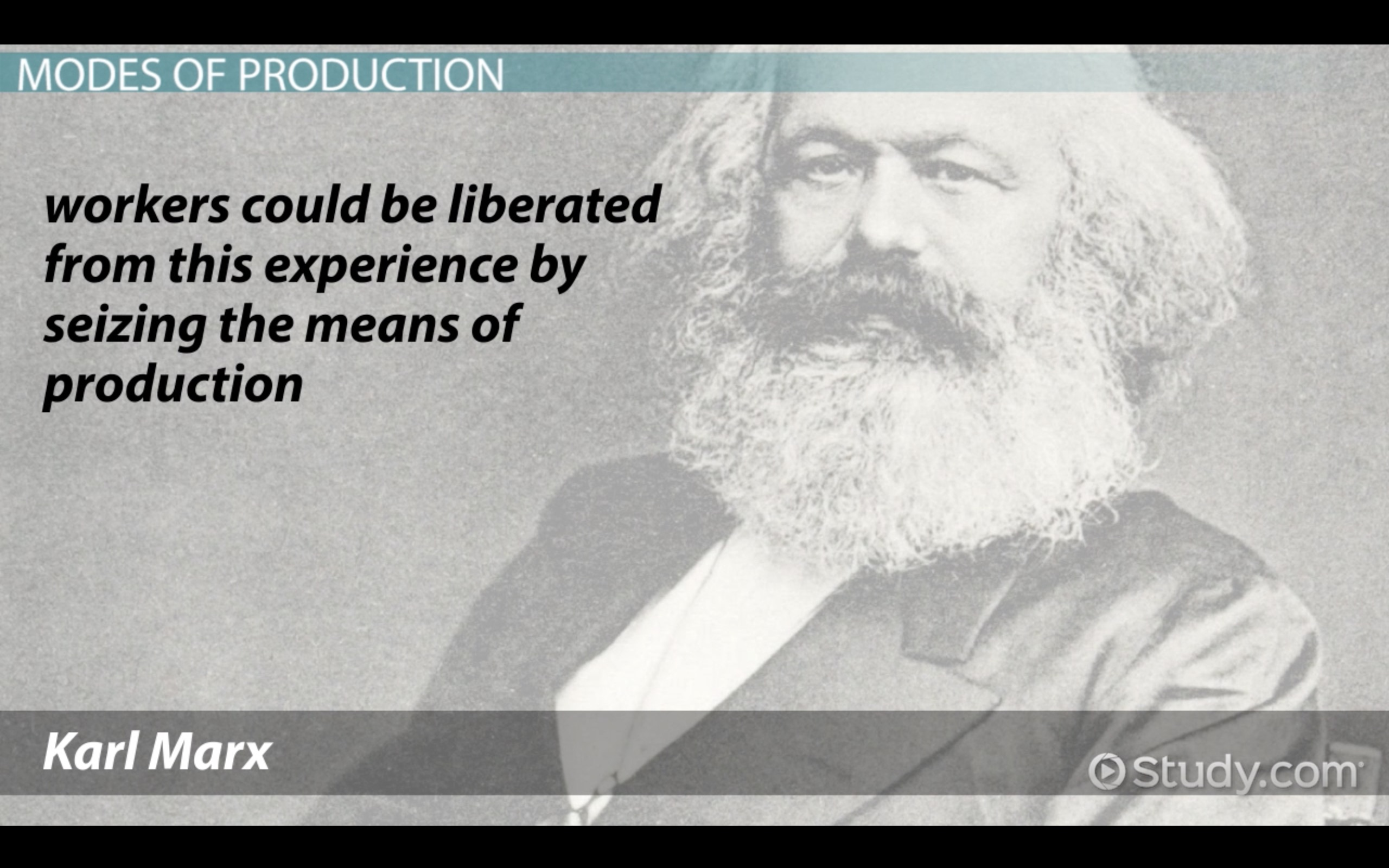 Means of Production in Sociology: Definition \u0026 Concept - Video ...