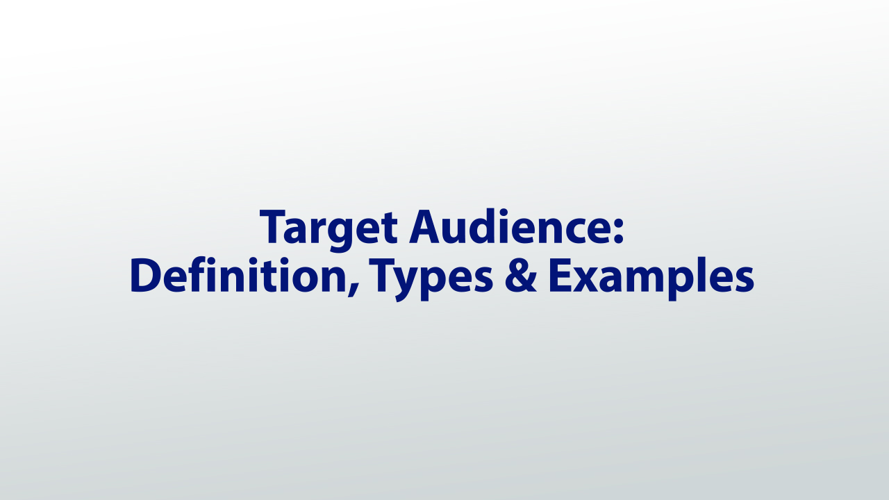 different types of tones in writing video lesson transcript target audience definition types examples