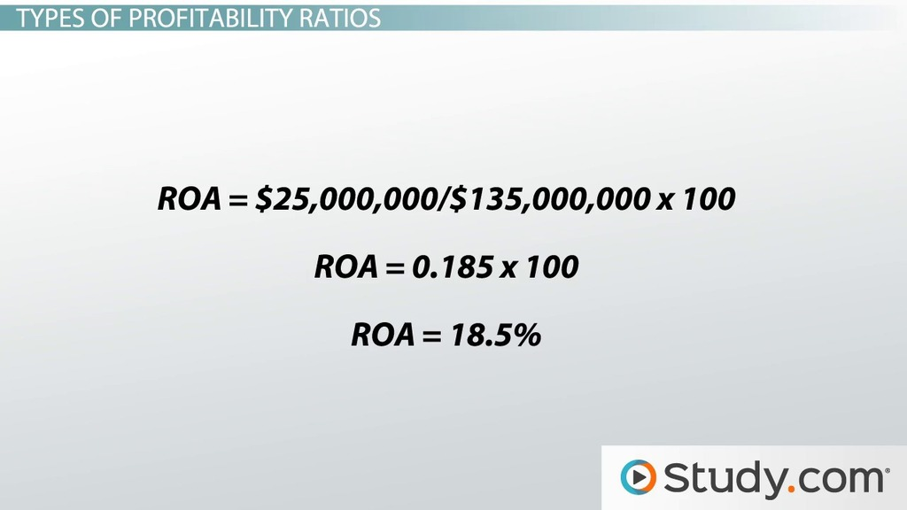 Profitability Ratio: Definition, Formula, Analysis & Example - Video ...
