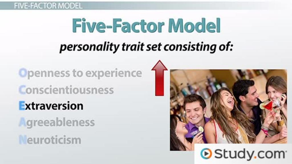The Five Factor Model Of Dispositional Traits Definition