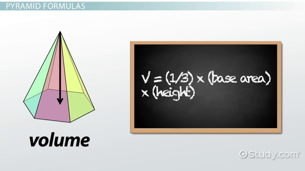 Pyramid in Math: Definition & Practice Problems - Video & Lesson ...
