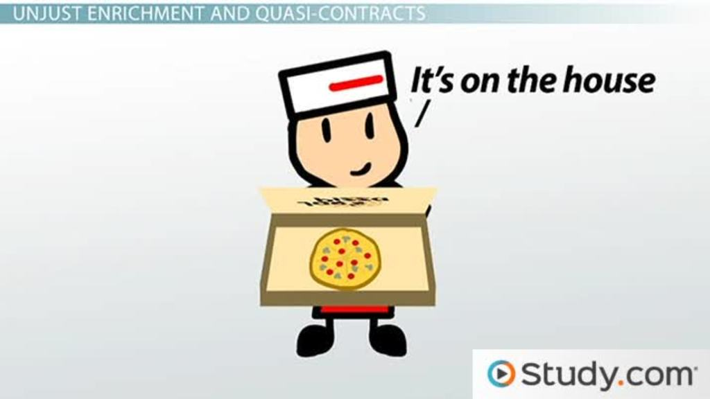 Quasi-Contract: Definition & Examples - Video & Lesson Transcript